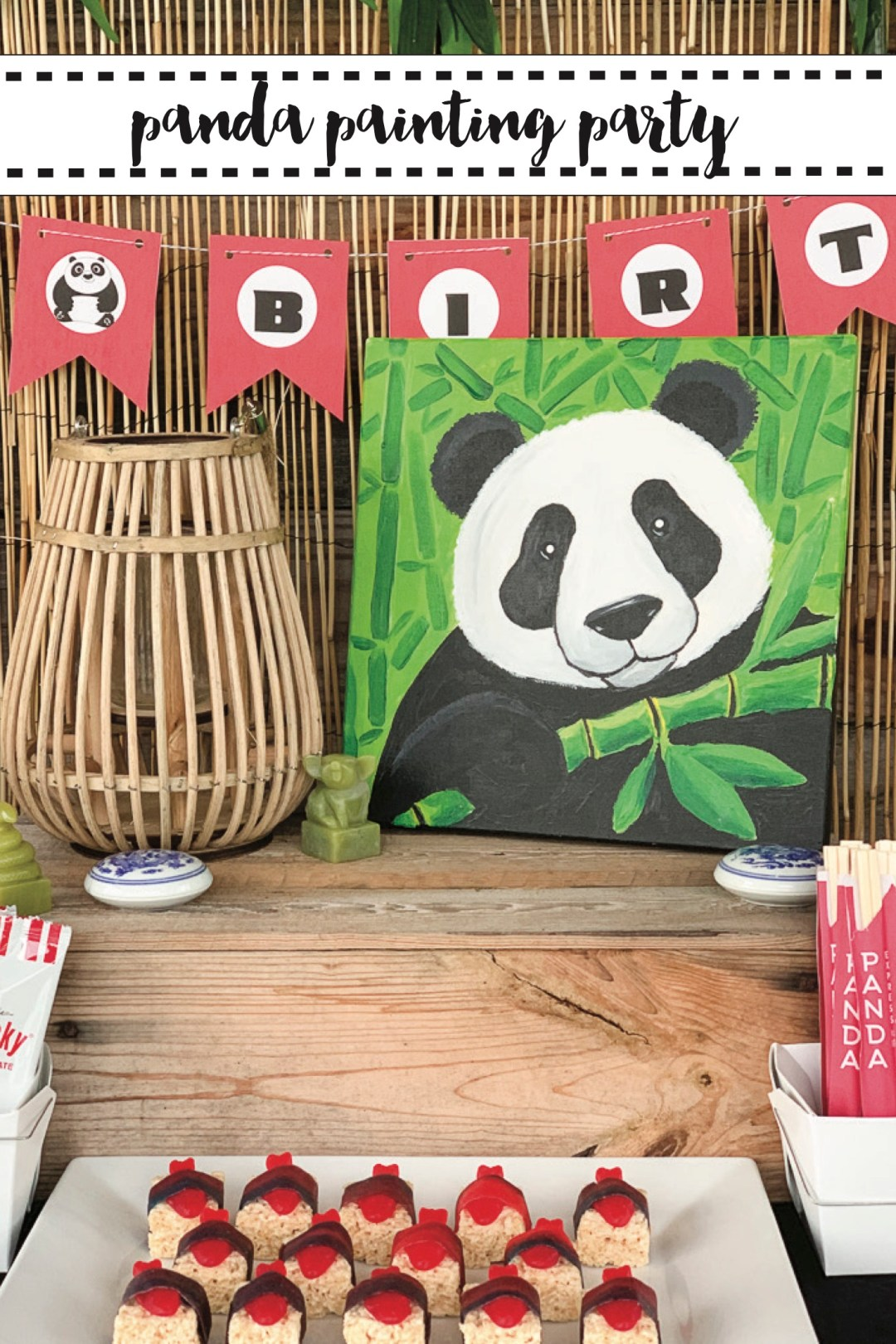 Panda Painting Party