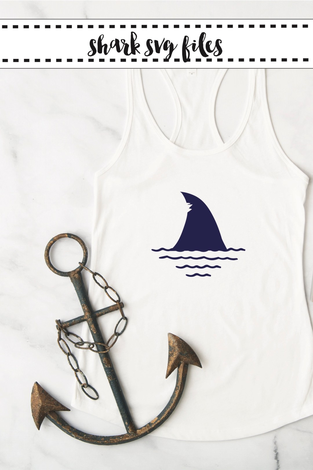 Shark Week Shirt DIY