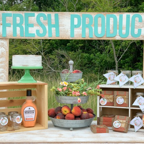 Fresh Produce Party Table