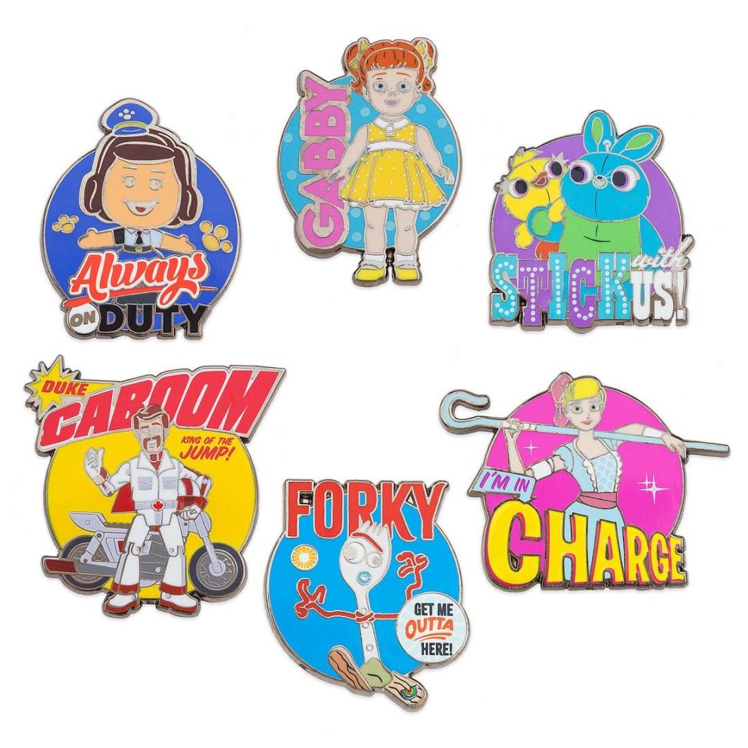 Toy Story 4 Trading Pins