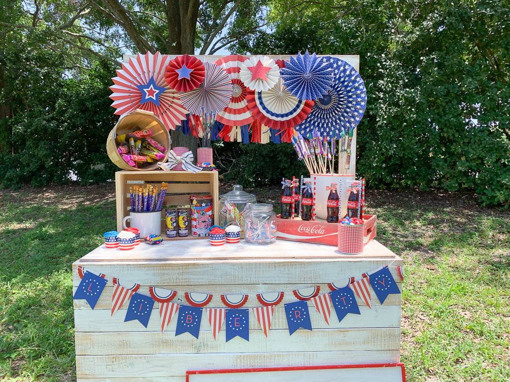Vintage Fireworks Stand