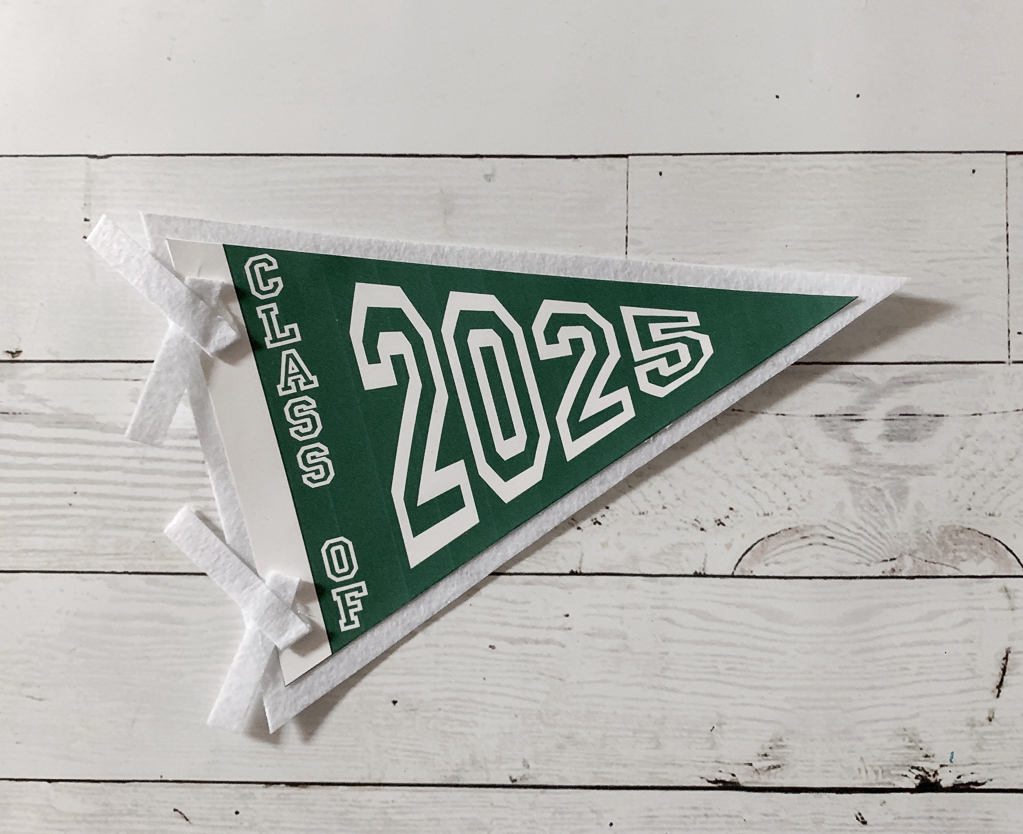 Class of 2025 Pennant