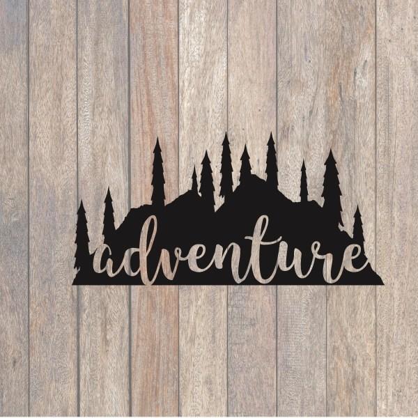 Mountain Adventure SVG