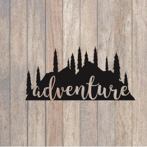 Mountain Adventure SVG