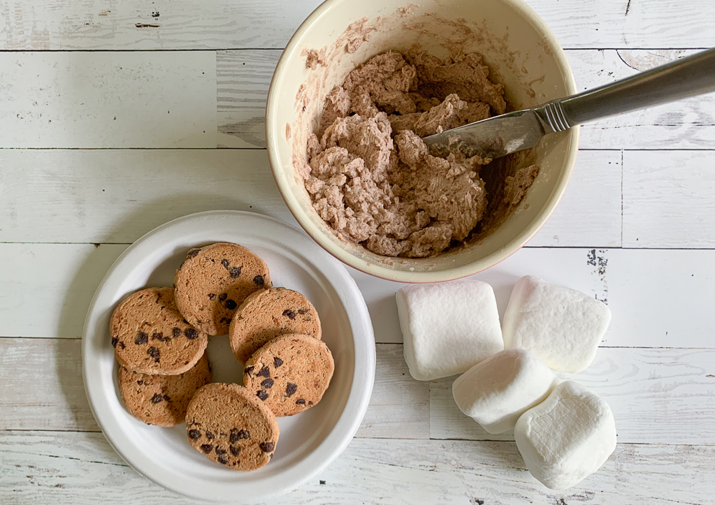 Cookies Buttercream Marshmallows
