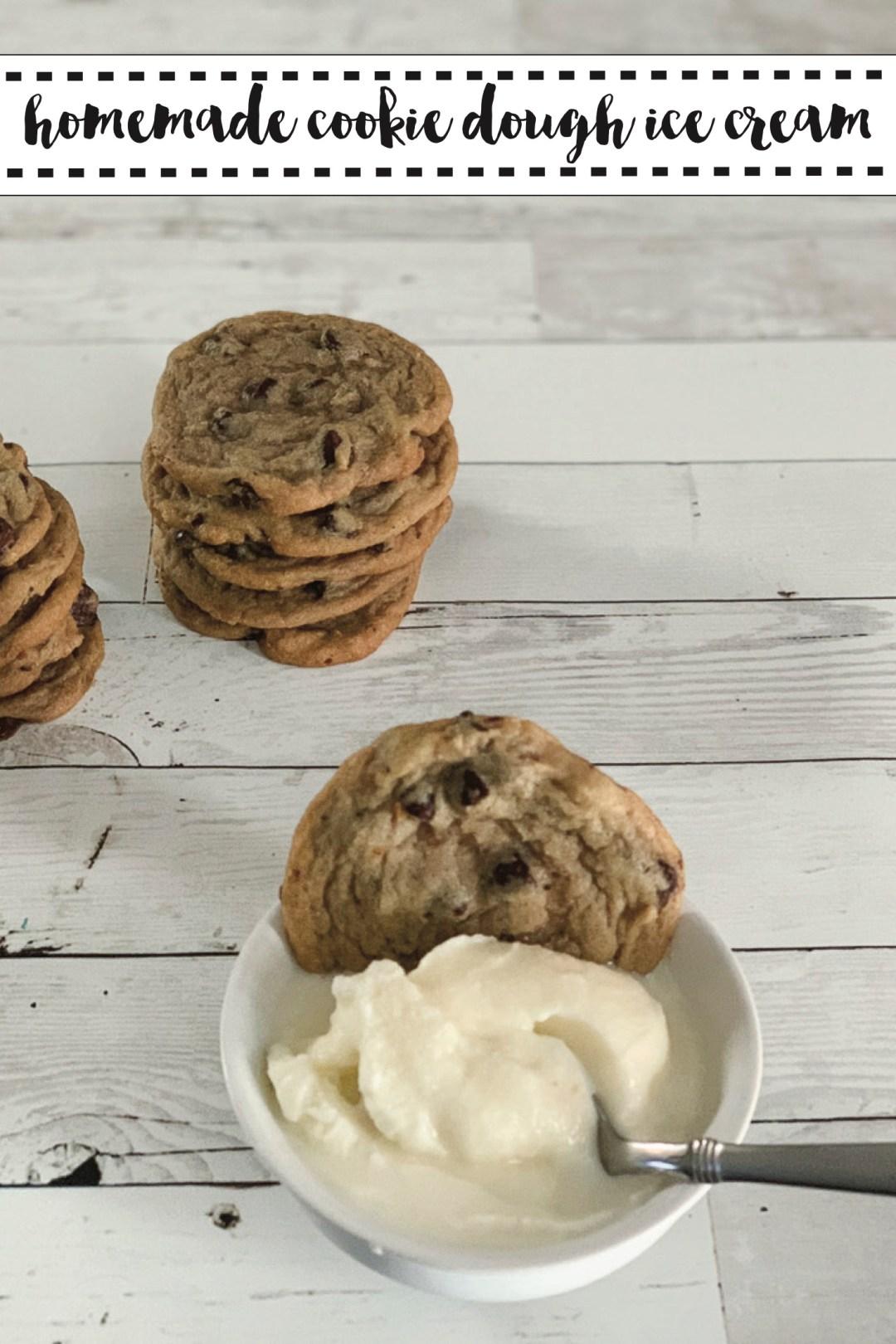 Cookies Cookie Dough Ice Cream