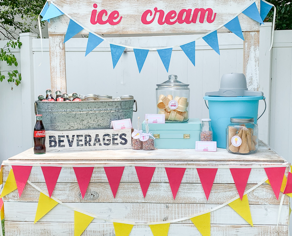 Ice Cream Stand Party