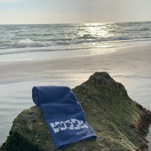 Shark Towel Rocky Beach