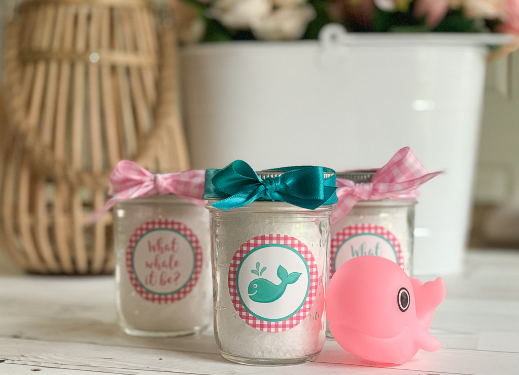 Ball Canning Jar Whale Labels