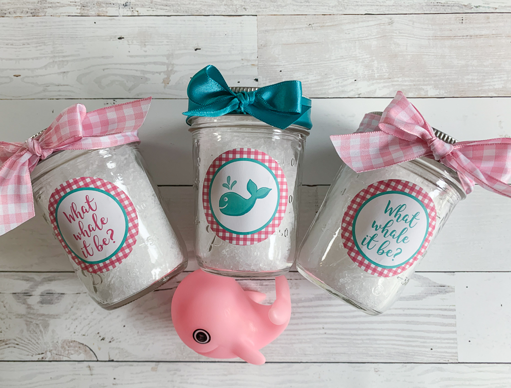 Ball Canning Jars Bath Salts Whale Toy