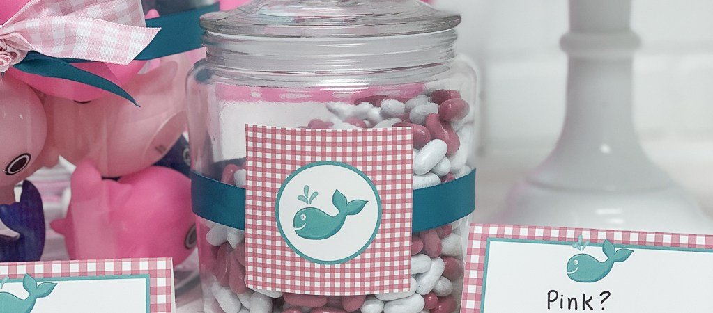 Pink and White Candy