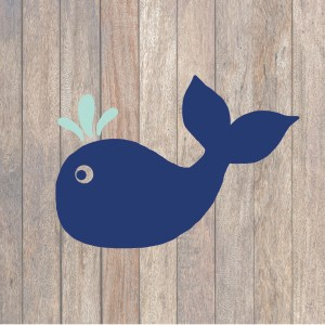 Preppy Whale SVG