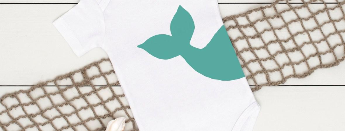 Whale Tail Onesie