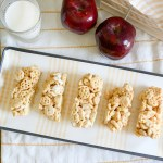 Cereal Bars Apples Milk