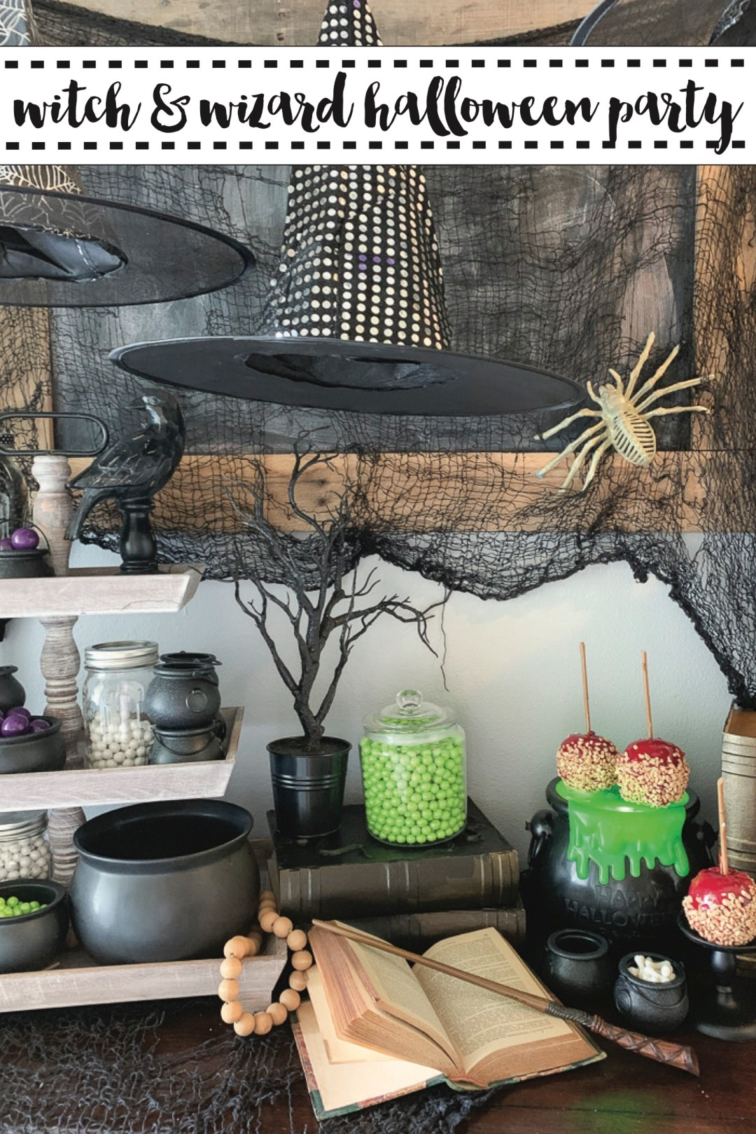 Witch and Wizard Halloween Party