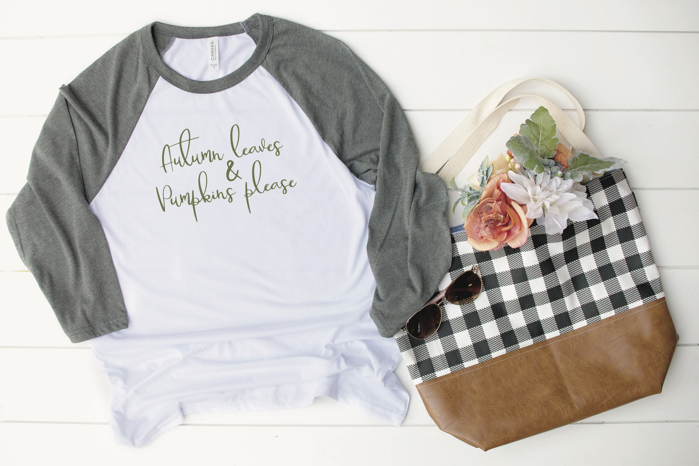 Fall Raglan Shirt