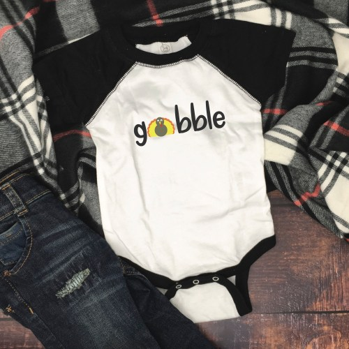 Infant Thanksgiving Onesie