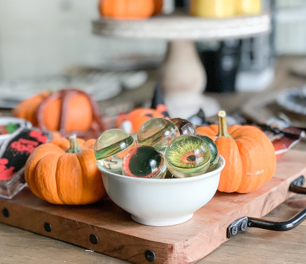 Pumpkins Eyeball Balls