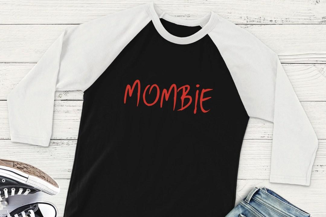 Mombie Raglan Shirt