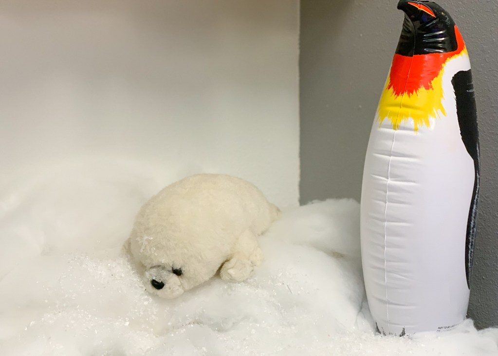 Stuffed Animal Seal Inflatable Penguin