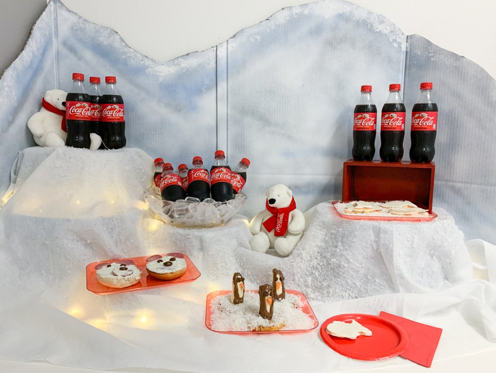 Coca-Cola Polar Bear Party Food
