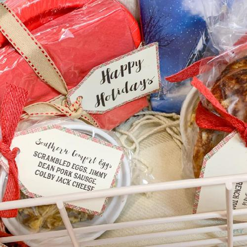 Holiday Breakfast Gift Basket