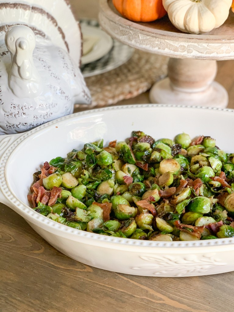 Brussel Sprouts Thanksgiving Turkey