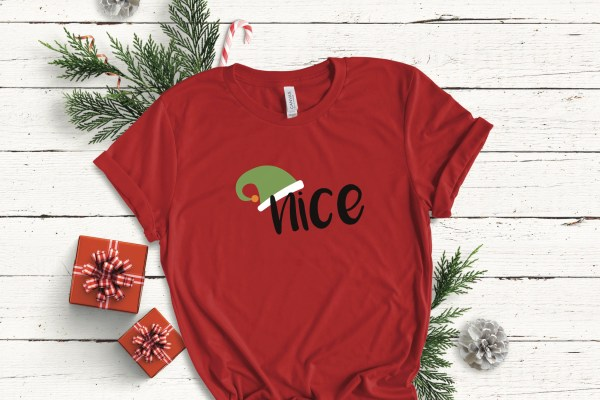 Nice Elf Red T-shirt