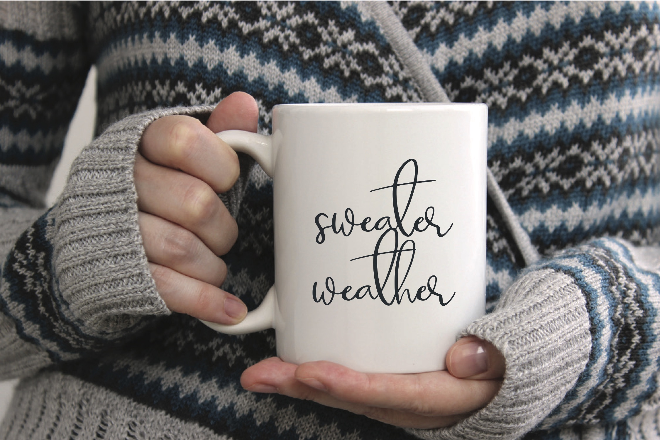 Sweater Weather Coffee Mug