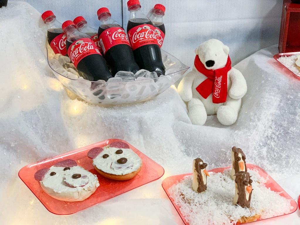 Polar Bear Party Food Table