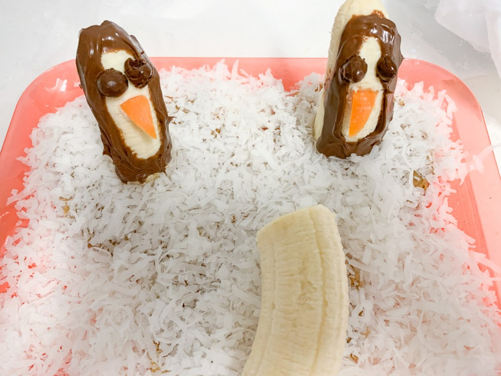 Penguin Banana Snacks