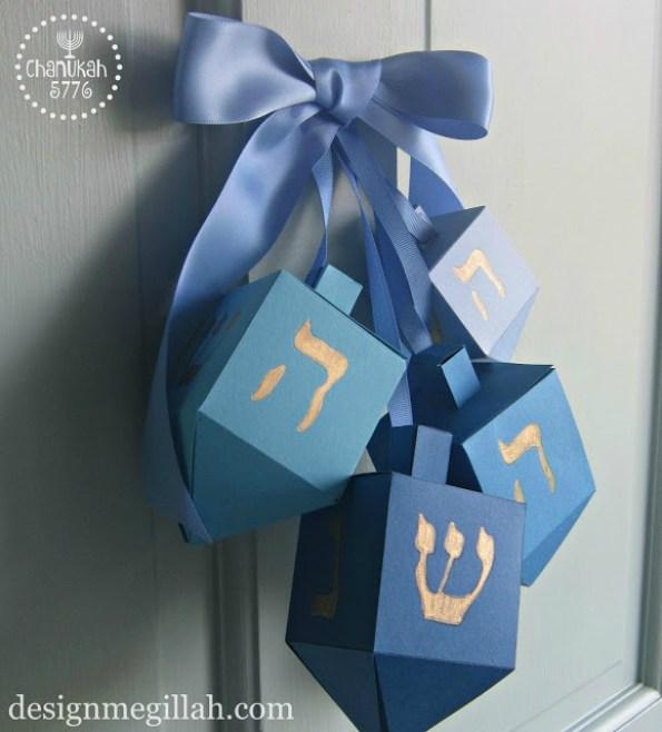 Hanukkah Door Decor