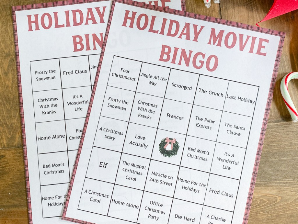 Printable Christmas Party Games
