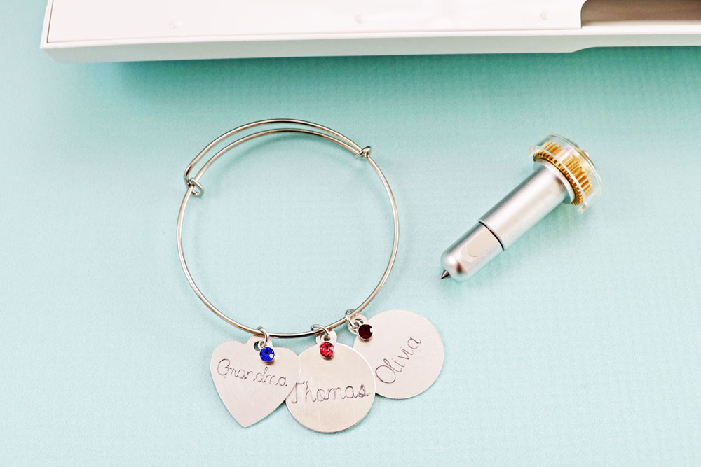Laura's Crafty Life Engraved Bracelet