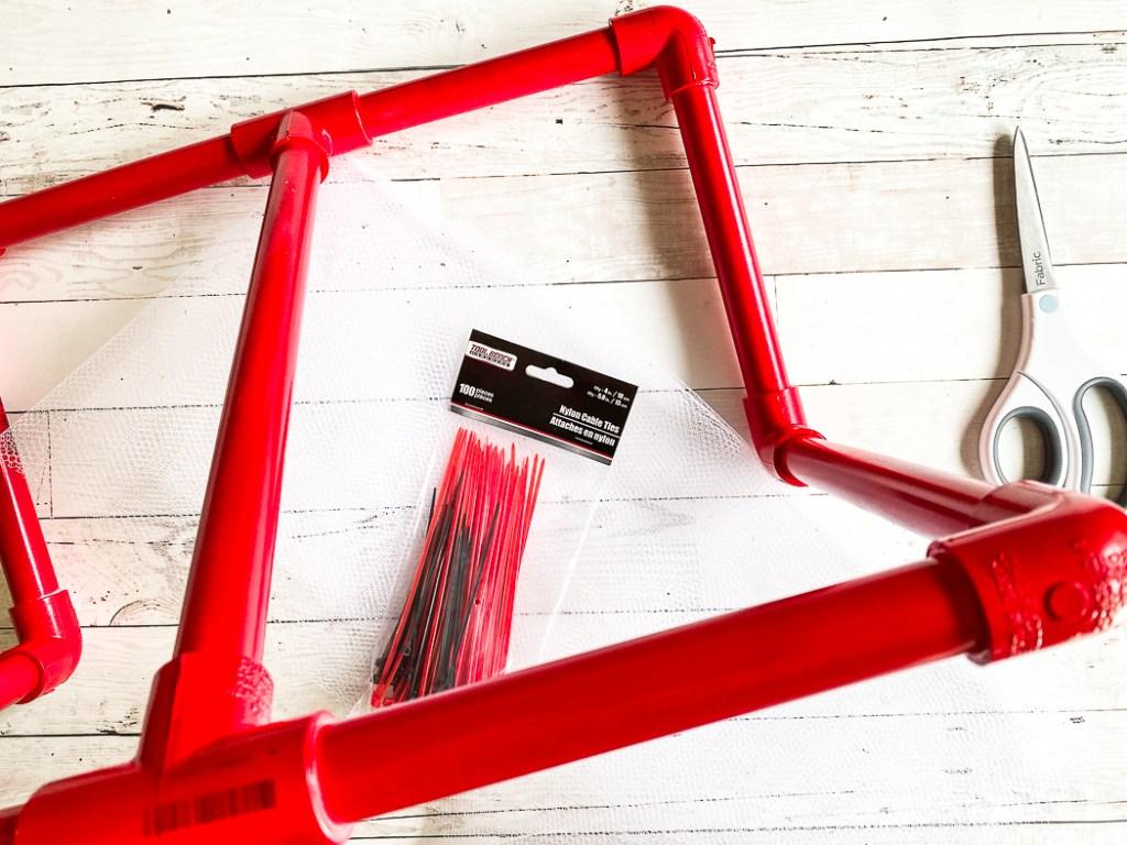 PVC Goal Net Frame