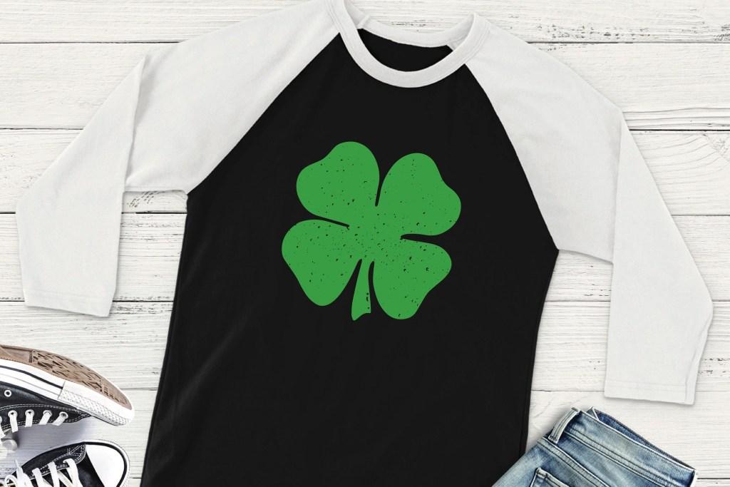 Raglan St.Patrick's Day Shirt
