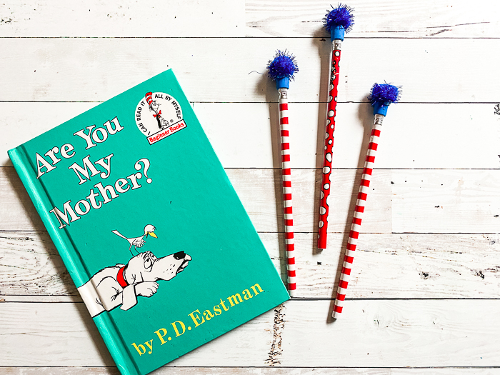 Are You My Mother Book Dr. Seuss Pencils