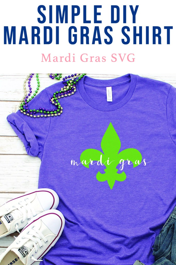 Mardi Gras Shirt DIY