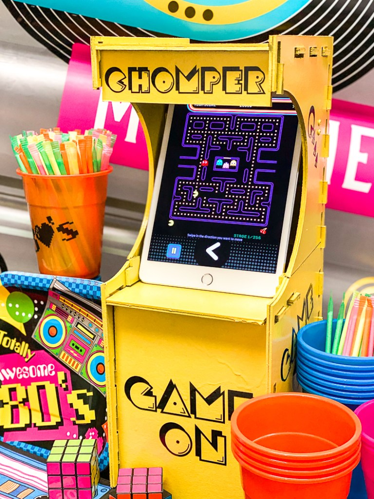 PacMan Game Cabinet