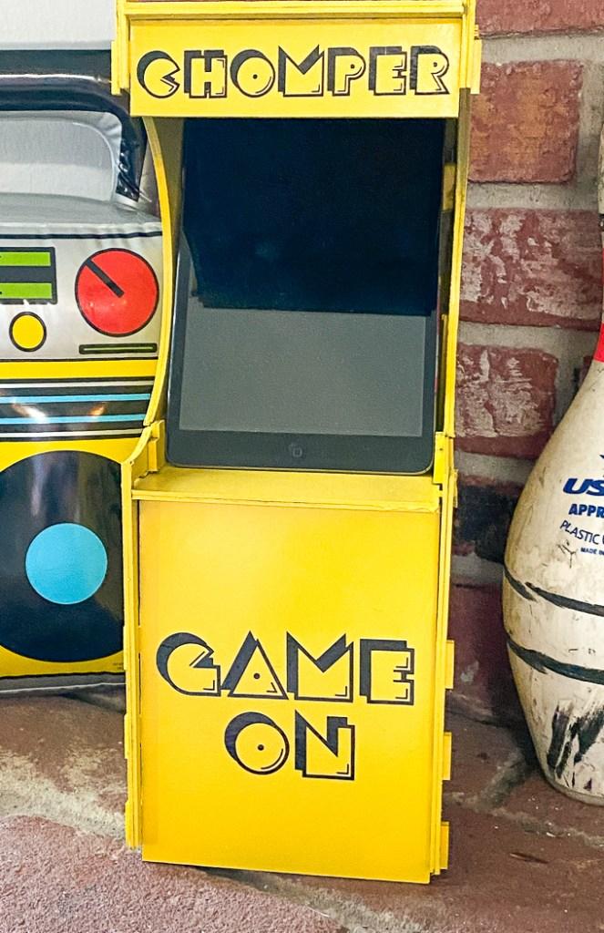 Vintage Game Cabinet