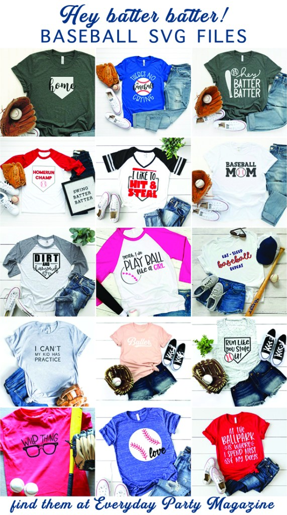 Baseball Shirt DIY Collage