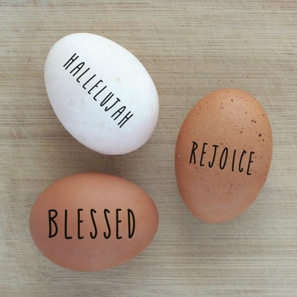 Religious Easter Egg Craft