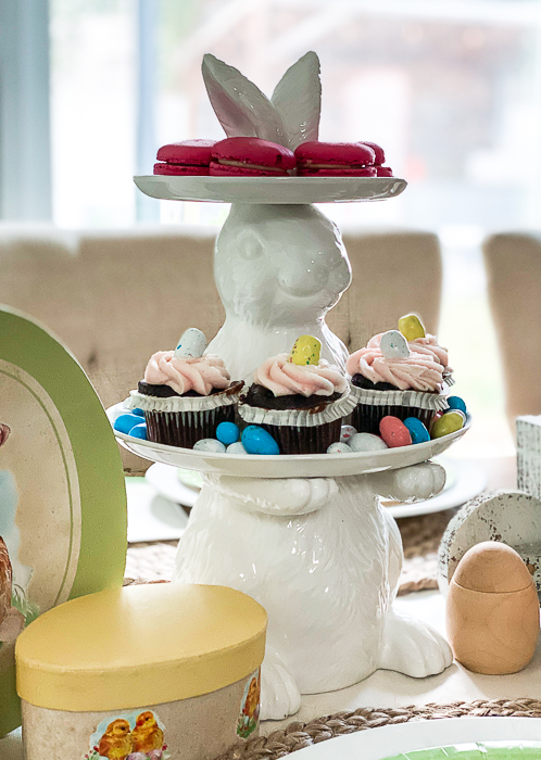 Easter Bunny Treat Plate