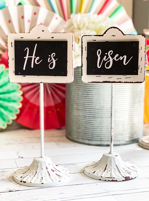 Religious Easter Decor