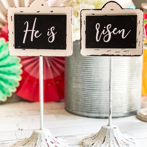 Religious Easter Decor