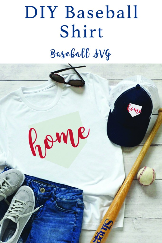 DIY Baseball Shirt