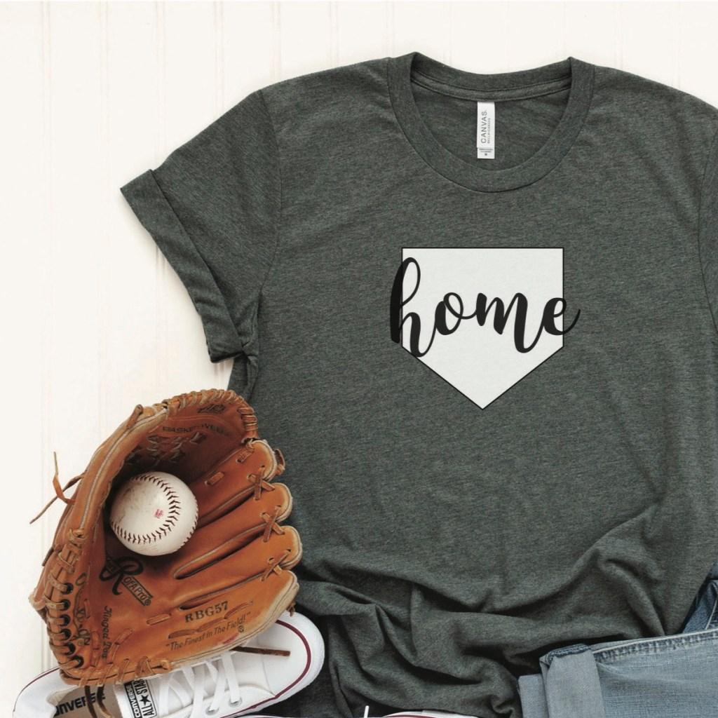 Grey Baseball T-Shirt