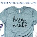 Hero in Scrubs Shirt Idea
