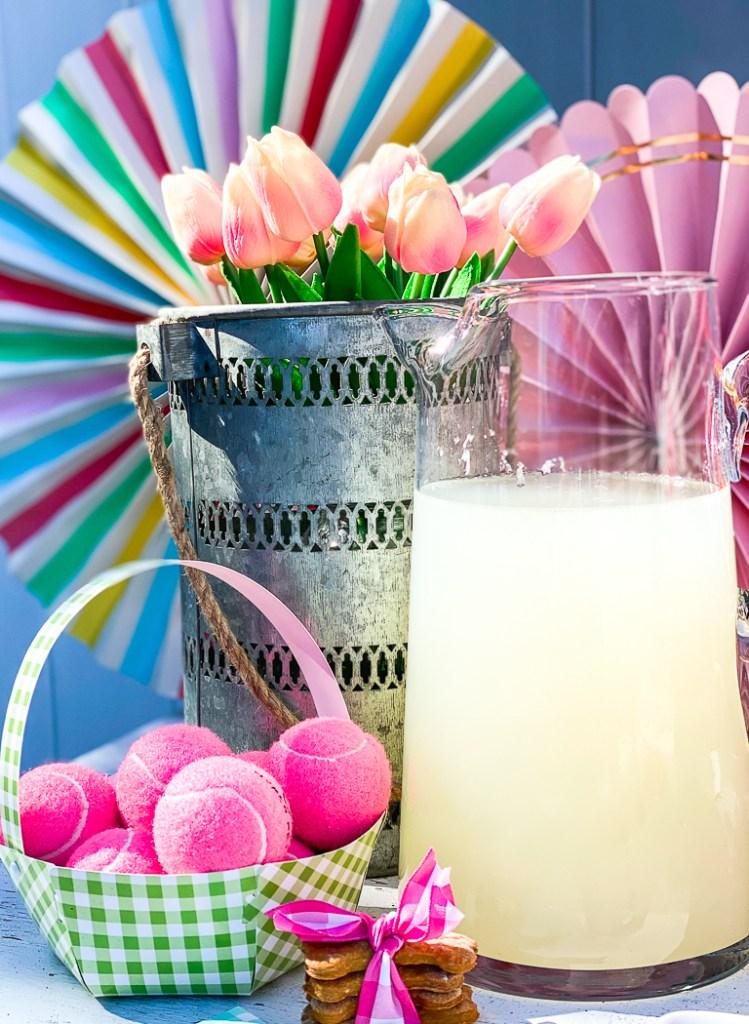 Flowers Lemonade Pitcher
