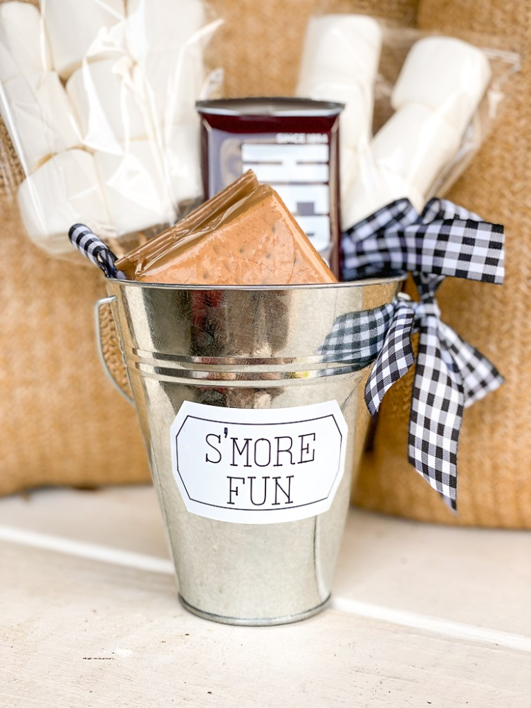S'More Fun Gift Bucket